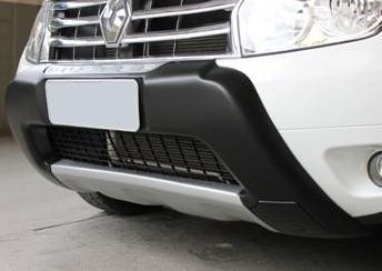 overbump duster sem suporte de farol auxiliar front bumper