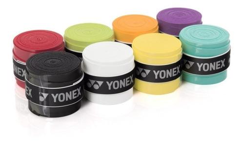 overgrip fita yonex super grap - raquete tênis, badminton 4x