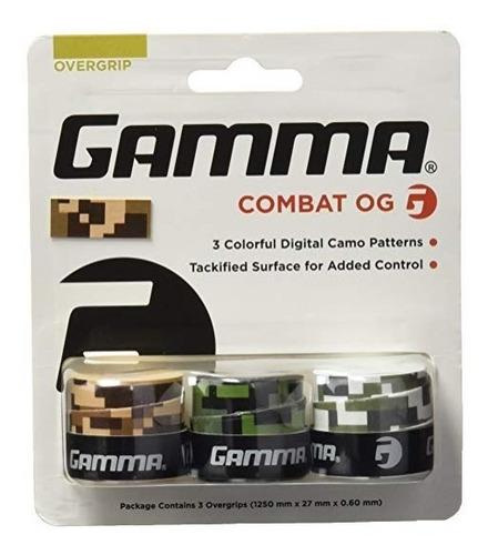 overgrip gamma combat con 3