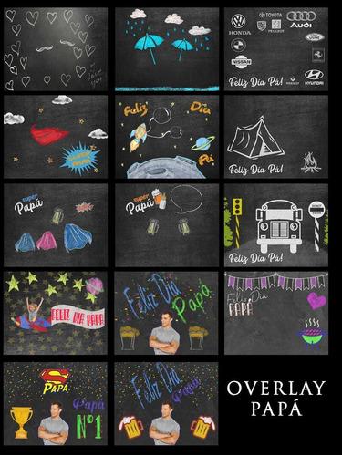 overlays, vectores, png, tiza, editables, photoshop, diseños