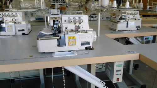 overlock 3 hilos typical gn793d direct drive motor incorpora