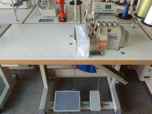 overlock electronica 4 hilos jack jk-904e automatica, panel