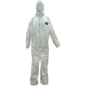 Overol Desechable Traje Tyvek Dupont Capucha Ropa Industrial