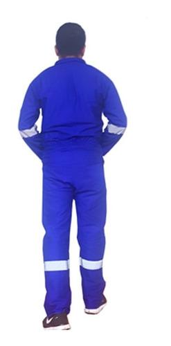 overol gabardina 100 % algodón azul rey