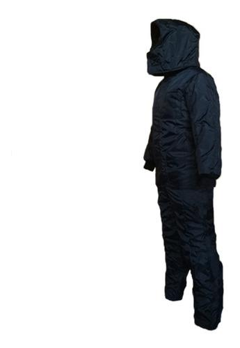 overol térmico para cuartos fríos (bajas temperaturas -20°c)