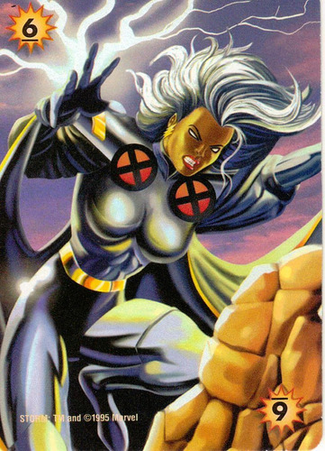 overpower marvel comics storm power card