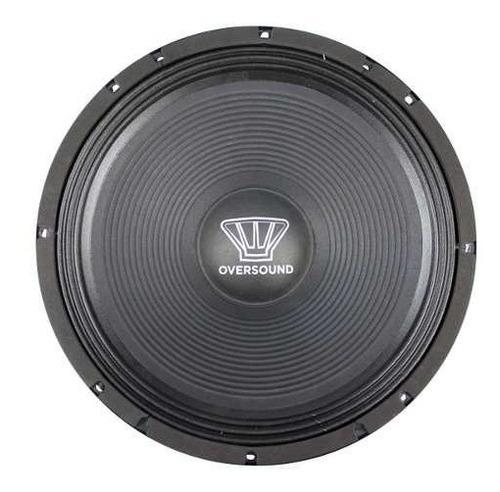 oversound alto-falante 15 polegadas 125w 8 ohms - 300w 15