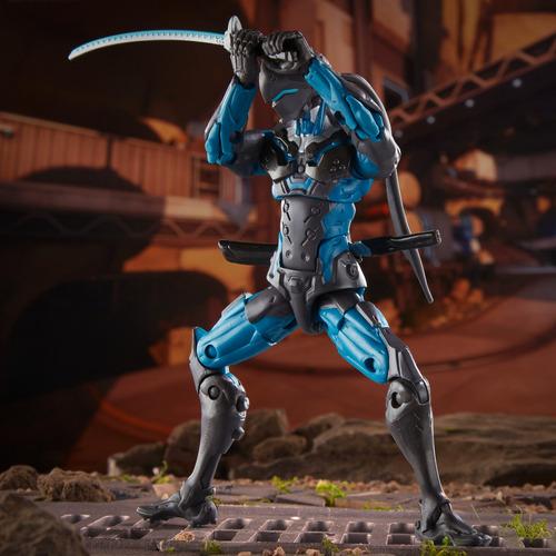 overwatch figuras ultimates carbon fiber set