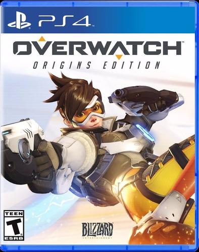 overwatch ps4 formato fisico juego playstation 4
