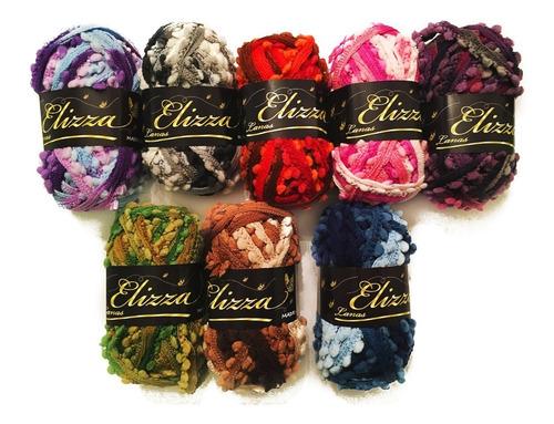 ovillo lana tejer croche ref. madrileña lanas elizza