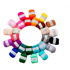 Ovillo Lana Tejer Crochet Dos Agujas Manualidades Hilo