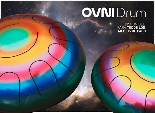 ovni drum grande 11 notas - tambor melódico - steel tongue