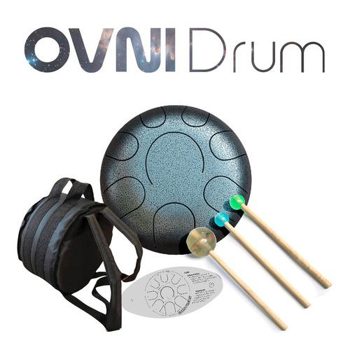 ovni drum original de 8 notas - tambor melódico steel tongue