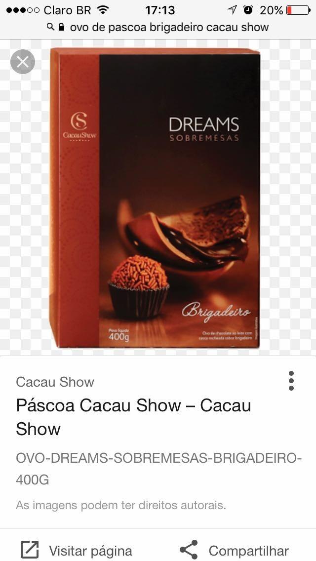 ovos de pascoa cacau show 2019