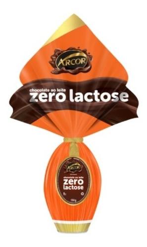 ovo de páscoa zero lactose arcor 150g