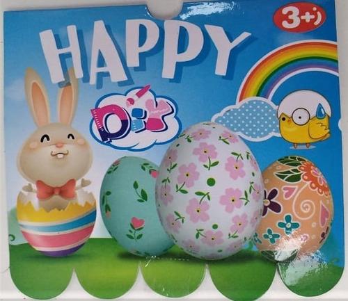 ovos imitação de plástico duzia p/ brincadeiras