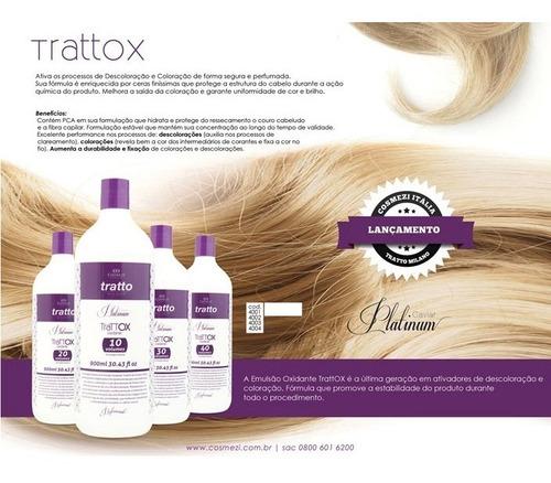 ox creme oxidante trattox 10 volumes 900ml | cosmezi