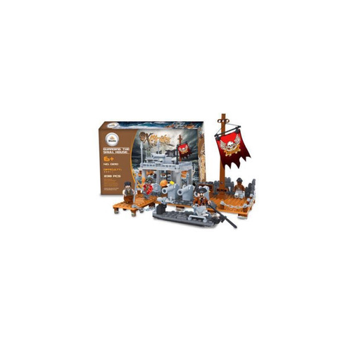 ox pirates-guarding the skull house 238pcs