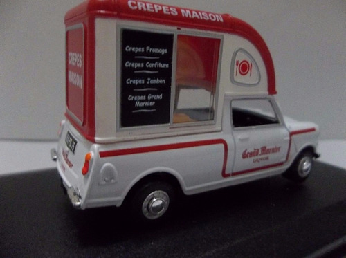 oxford 1/43 mini van crepes maison confitures