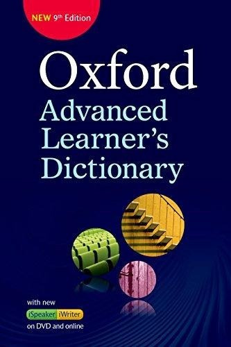 oxford advanced learner's dictionary - 9/ed - dvd + online
