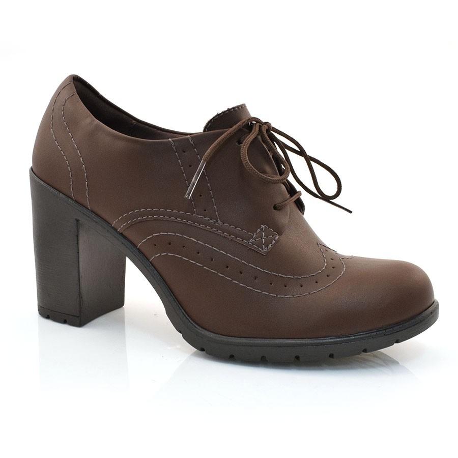 ab8129e9de oxford de salto alto dakota - g0281 - vizzent calçados. Carregando zoom.