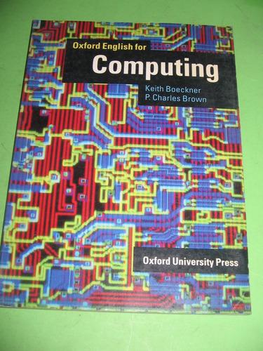 oxford english for computing boeckner & brown $ 1086