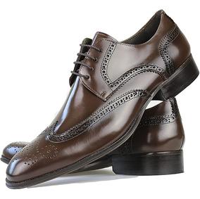 37f39cf7c Sapato Couro De Bufalo Feitos Sapatos Sociais Masculino - Sapatos com o  Melhores Preços no Mercado Livre Brasil