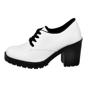 18df2aa2ce Kit 2 Pares Sapato Oxford Feminino - Sapatos no Mercado Livre Brasil