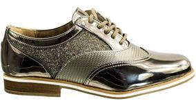 e1be74597 Tenis Metalizado Via Marte - Sapatos com o Melhores Preços no Mercado Livre  Brasil