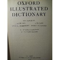 oxford illustrated dictionary coulson carr eagle london 1962