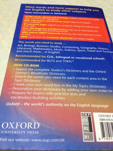 oxford students dictionary with cd-rom