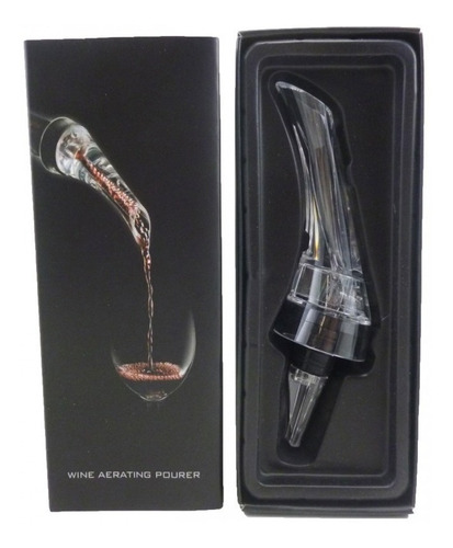 oxigenador decantador p/ vino aireador para resaltar sabores