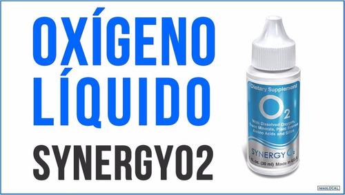 oxigeno liquido synergy o2 original nutricion celular invima