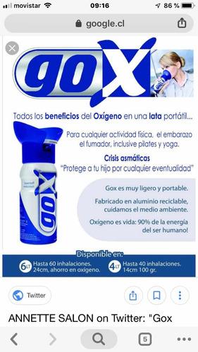 oxigeno medicinal desechable 99,5%