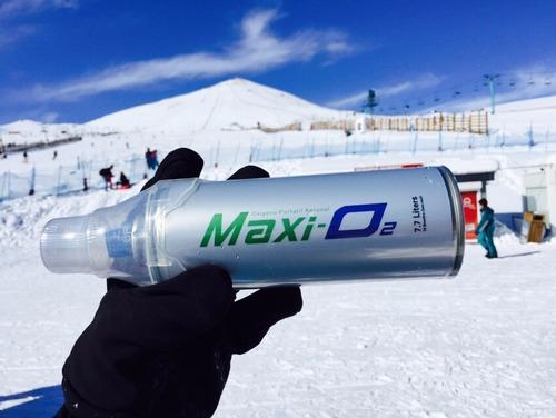 oxigeno portatil en lata