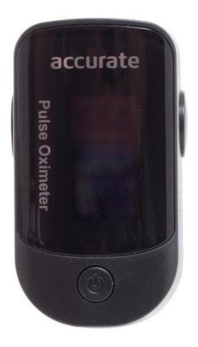oxímetro con gráfica alarma, estuche y correa - accurate
