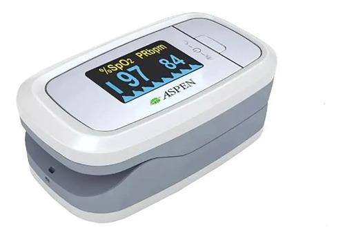 oxímetro de pulso aspen saturómetro display led cms50d1