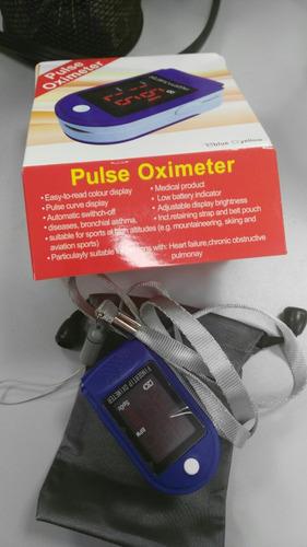 oximetro de pulso con curva + entrega metro