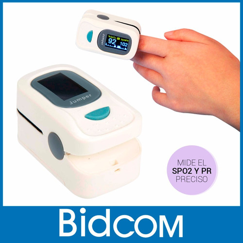 oximetro de pulso digital dedo saludo saturometro garantia