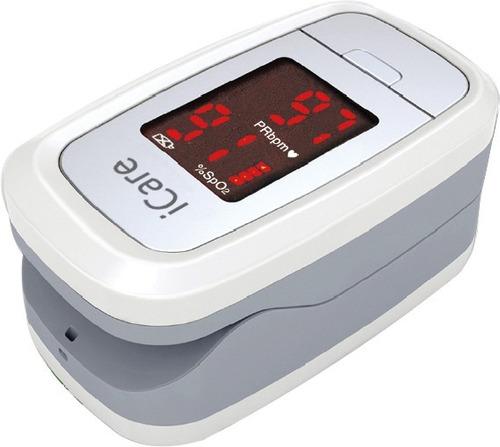 oximetro de pulso oxigeno en sangre icare - niño y adulto