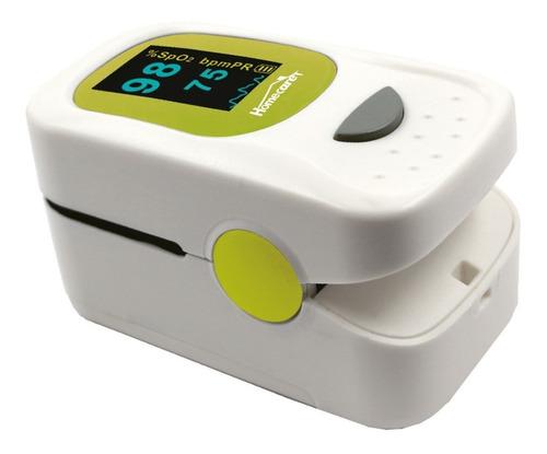 oxímetro de pulso para dedo doble pantalla lcd/oled fpx-033