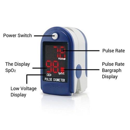 oximetro de pulso saturumetro importado