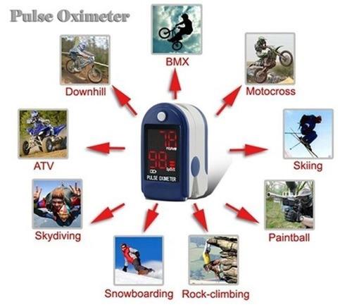 oximetro de pulso saturumetro importado usa envio gratis