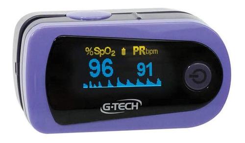 oxímetro digital modelo oled de pulso registro anvisa g-tech