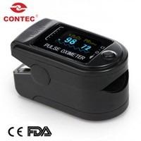 oximetro  medidor de oxigeno en sangre y pulso marca contec