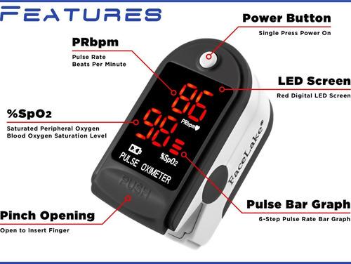 oximetro, medidor de pulso portatil mini
