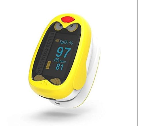 oximetro para chicos con bateria  medico pediatrico de pulso