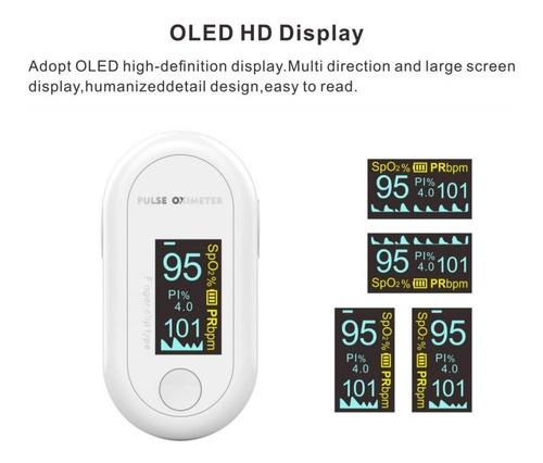 oxímetro profesional único con pantalla oled hd
