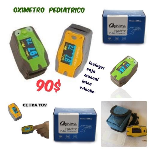 oximetro saturador pulsoximetro pediatrico