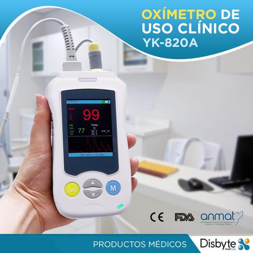 oximetro saturometro digital medico de dedo pulso anmat